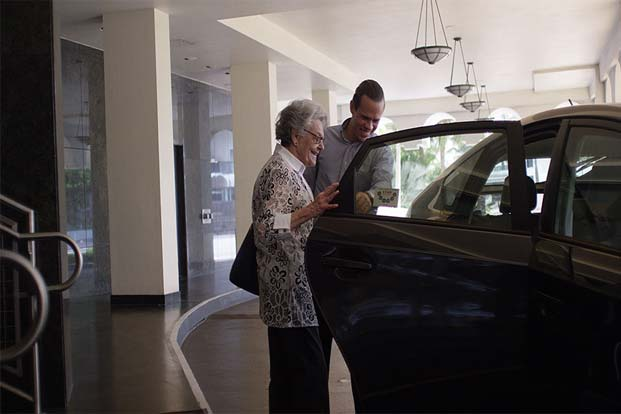 Uber Services Senior Citizens