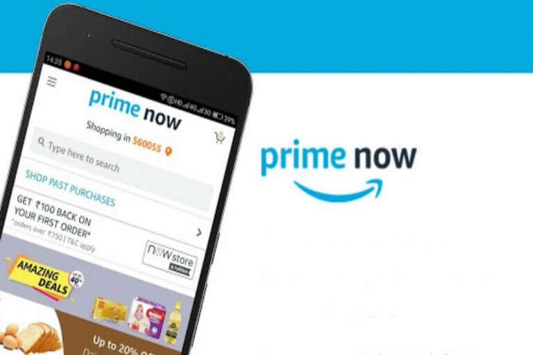 Amazon Now Rebranded as Prime Now in India